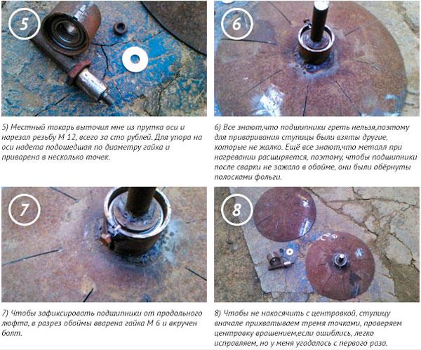 самодельный дисковый окучник для мотоблока
