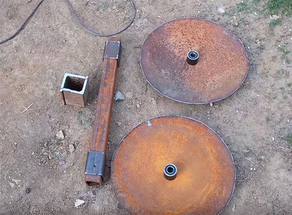 Чертежи дискового окучника для мотоблока