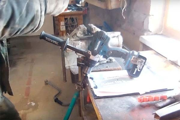 адаптер для ледобура под шуруповёрт