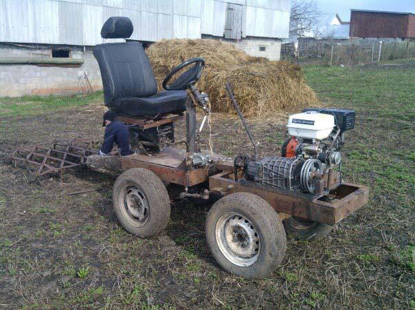 Трактор переломка своими руками чертежи фото 991