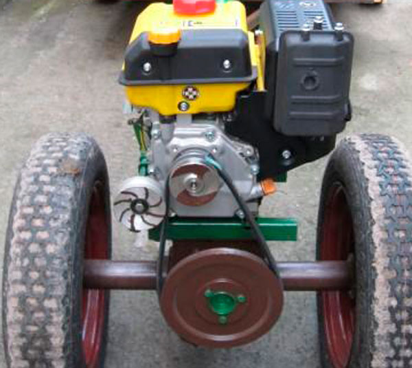 Трактор переломка своими руками чертежи фото 69