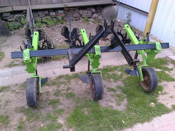 окучник для трактора самоделка