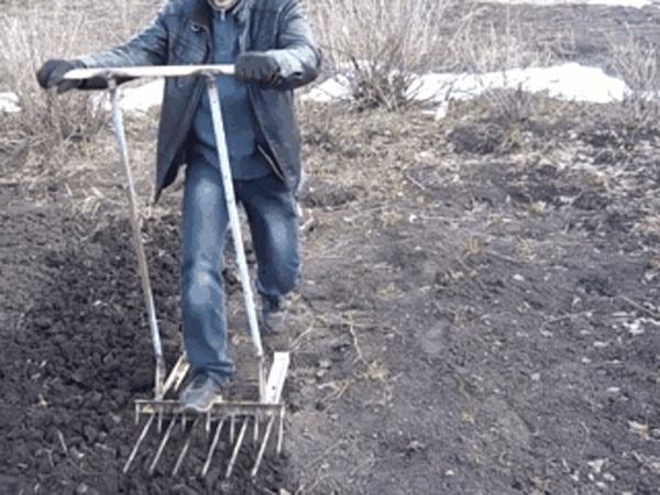 лопата самодельная