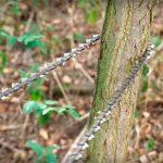 ручная пила из цепи