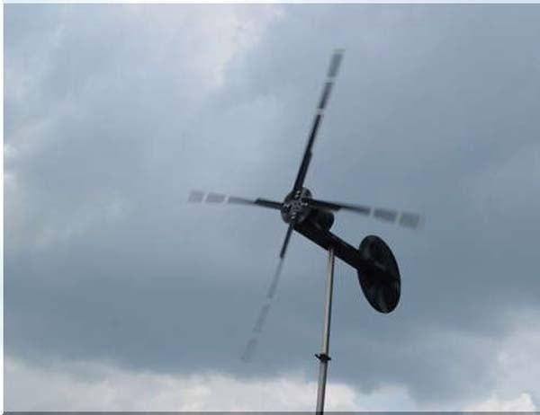 Ветрогенератор из шуруповёрта