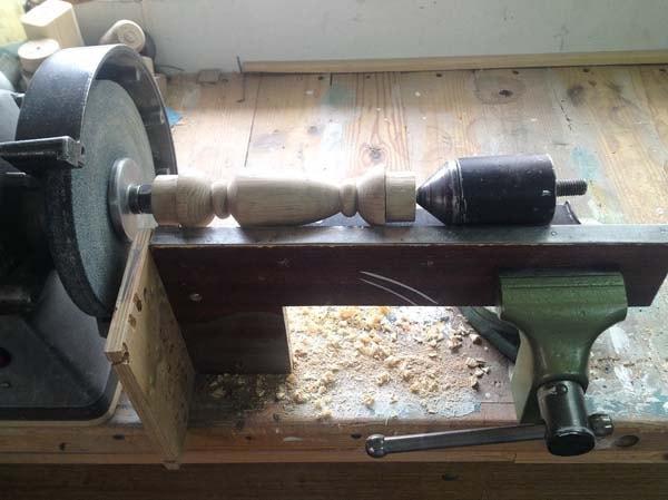 токарный станок из точильного
