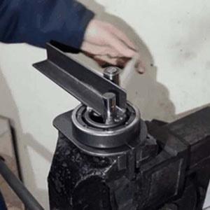Самодельный станок для холодной ковки своими руками 276