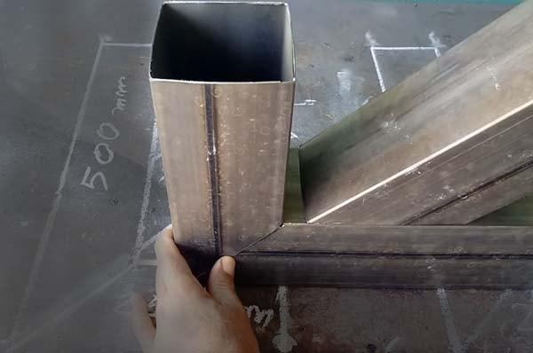 самодельная печь из трубы