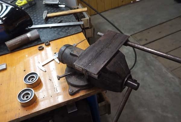 приспособление для гибки металла
