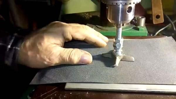 заточка ножа мясорубки