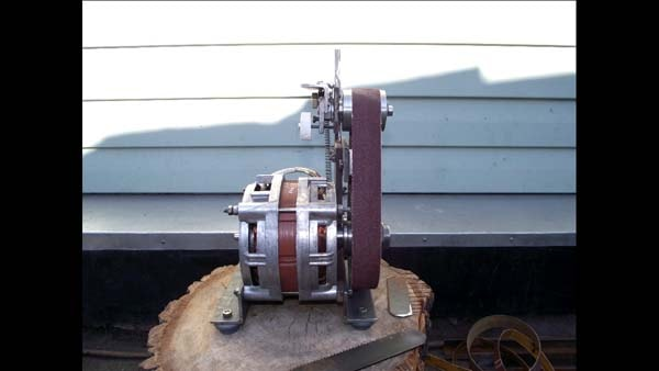Самодельный шлифовальный из двигателя от стиральной машины