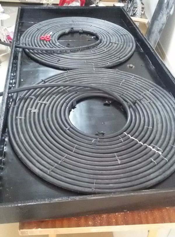 солнечный водонагреватель из шланга