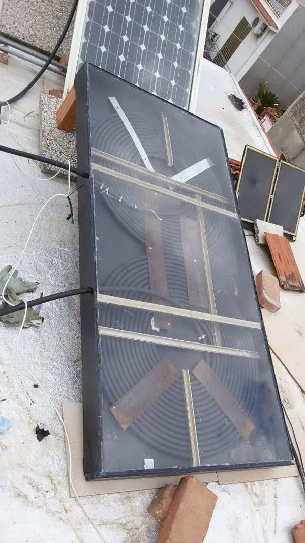 Самодельный солнечный коллектор своими руками