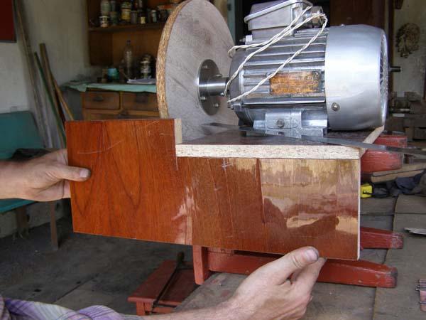 шлифовальный станок сделанный своими руками