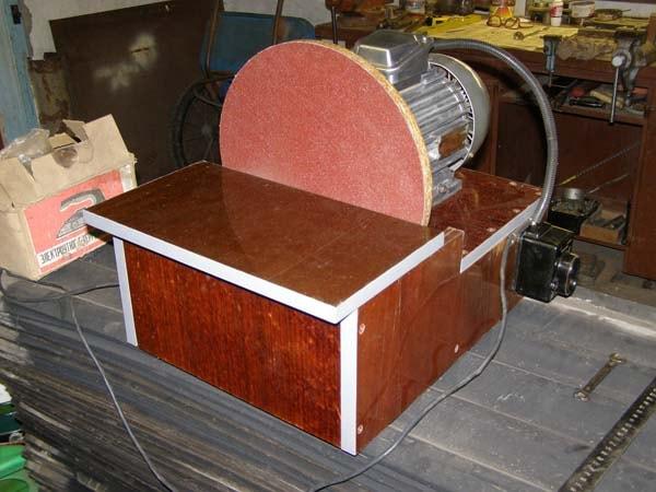 дисковый шлифовальный станок
