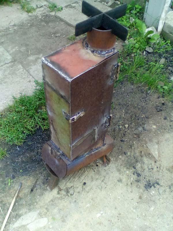 самодельная печь коптильня