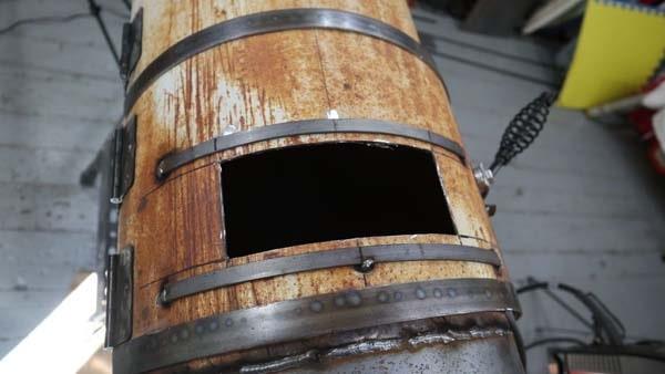 коптильня из газового баллона подробное изготовление