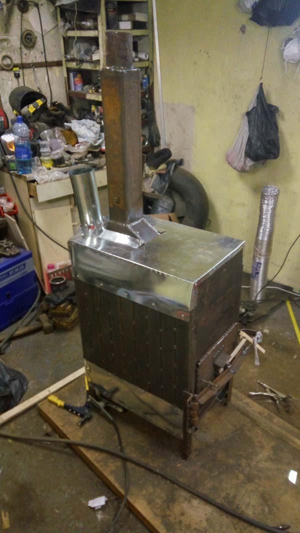 печка подробное изготовление с фото