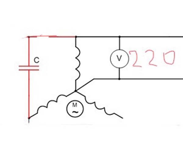 схема подключения обмоток генератора