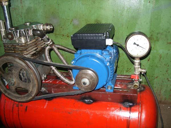 Самодельный компрессор из газового баллона
