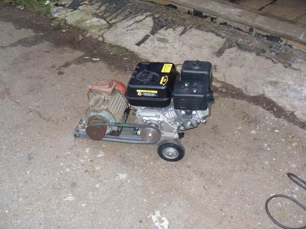 как сделать генератор на 220