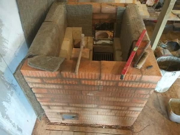 кирпичная печка