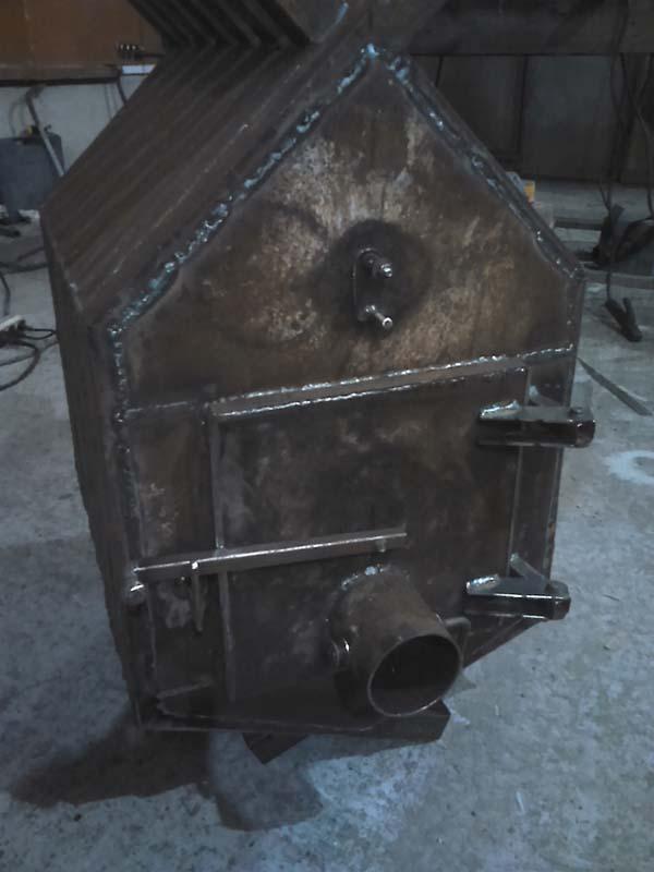 печка самоделка