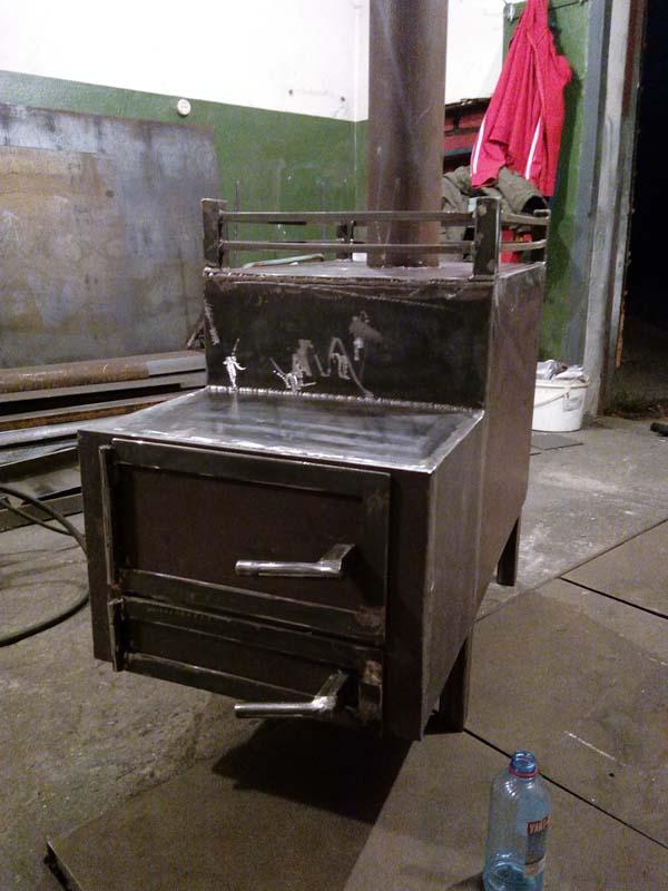 Печь для бани из металла фото