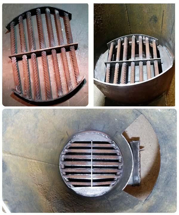 самодельная печка из металла