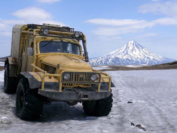 вездеход на базе ГАЗ 66