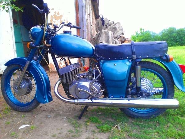 реставрация мотоцикла Иж