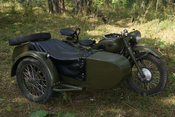 Восстановленный мотоцикл М 72