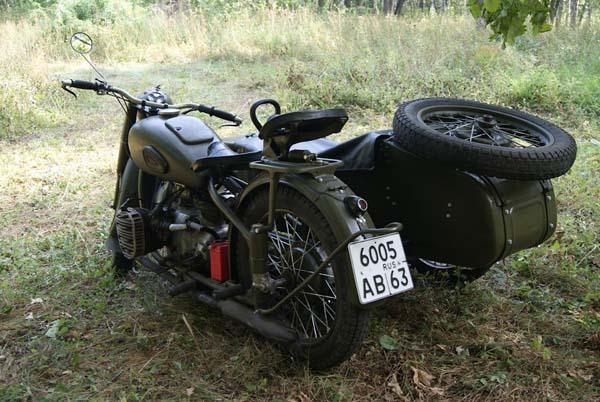 реставрация мотоцикла М 72