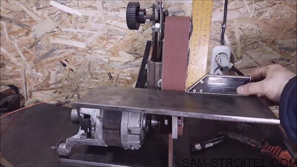 шлифовальный станок ленточный