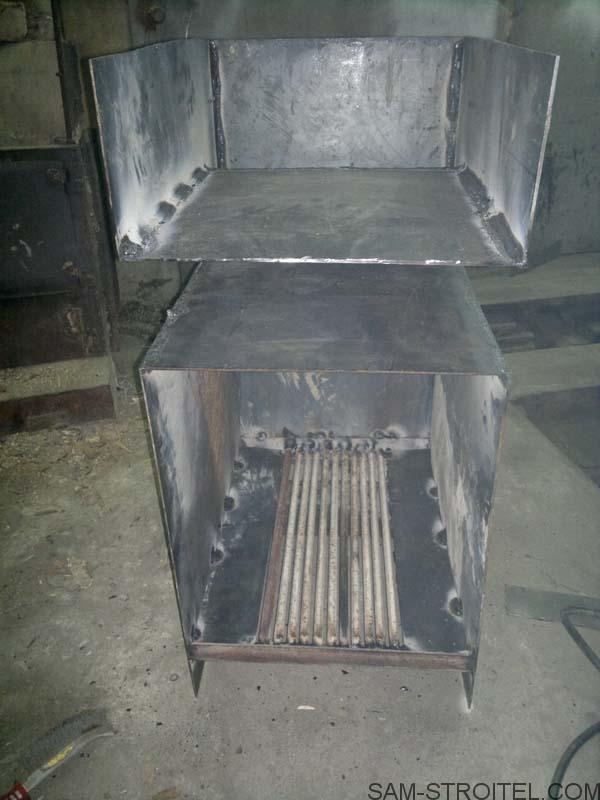 печка на дровах