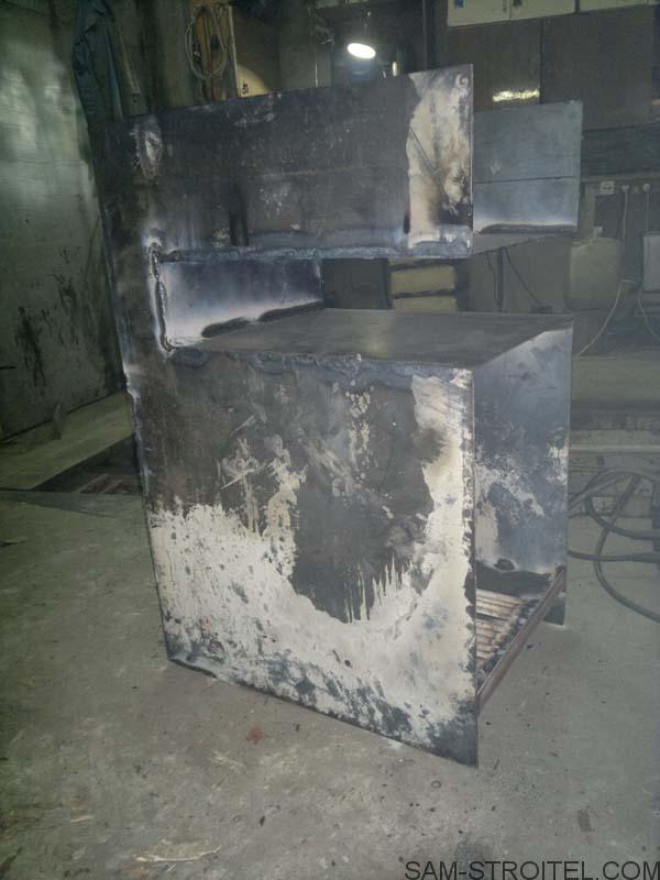 делаю печь на дровах