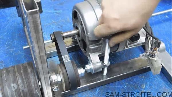 самоделка из двигателя от стиральной машинки
