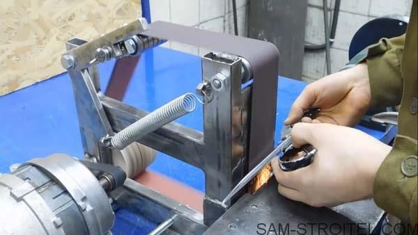 самодельный гриндер из двигателя стиральной машины