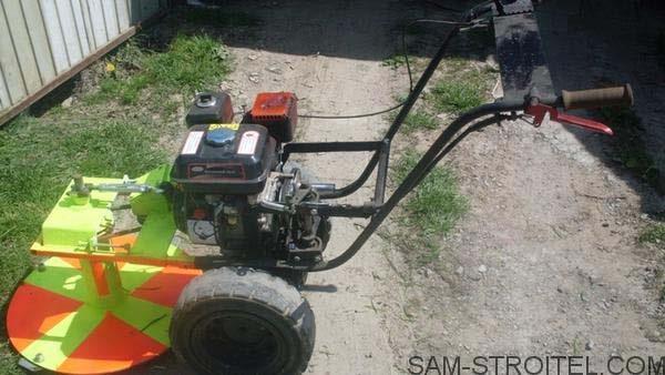 Минитрактор своими руками с двигателем от мотоблока фото 546