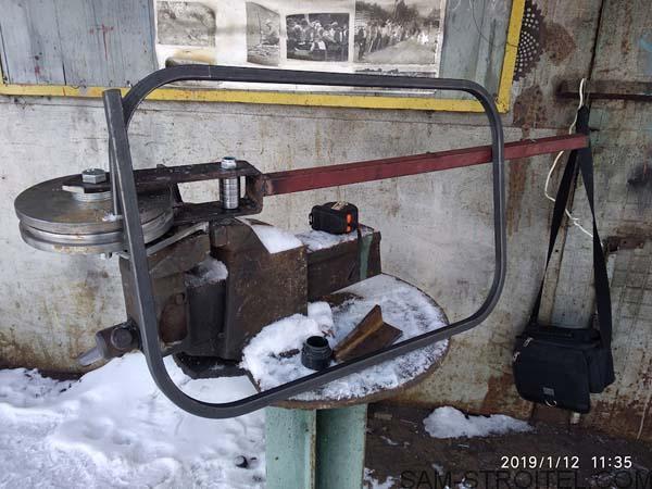 станок для сгибания труб самодельный