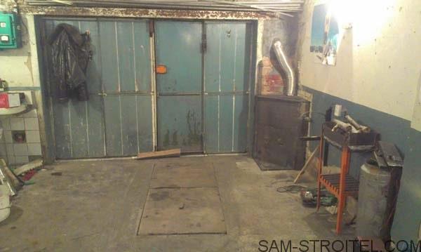 печь буржуйка в гараж
