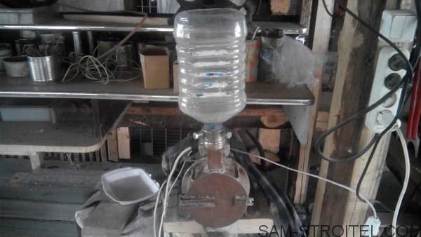 как сделать зернодробилку