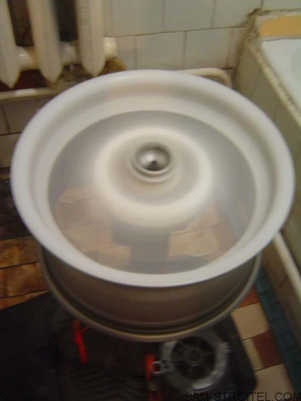 Станок для полировки колёсных дисков