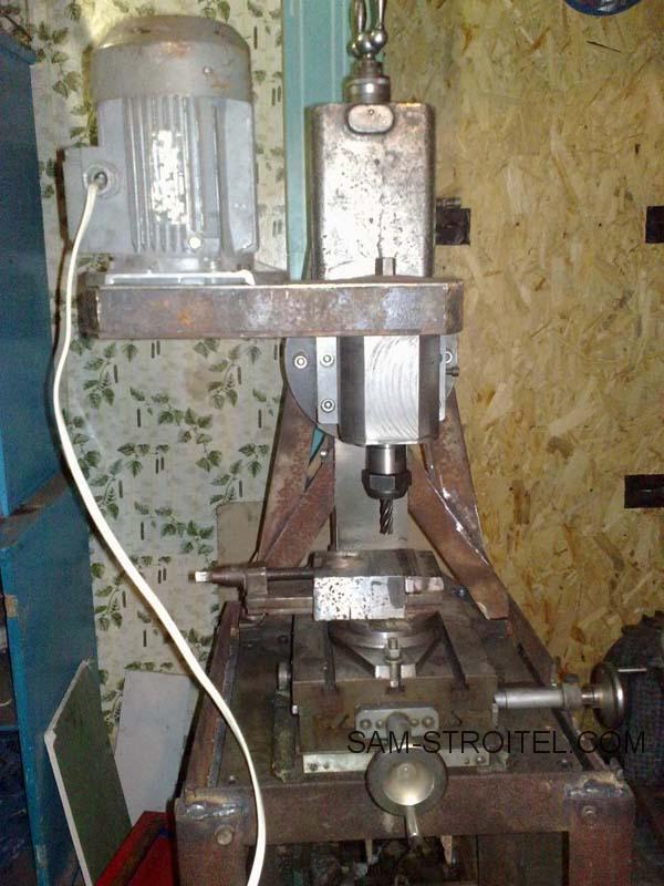 Фрезерный станок сделанный своими руками