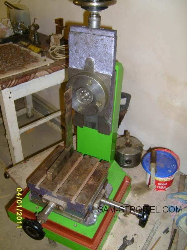 фрезерный станок по металлу подробно