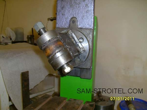 самодельный фрезерный станок по металлу