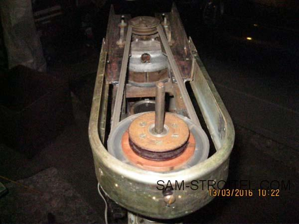 Сверлильный станок из двигателя стиральной машины