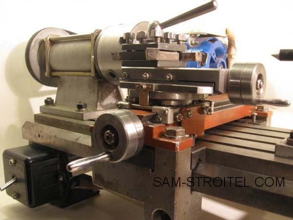 станок из двигателя от стиральной машины