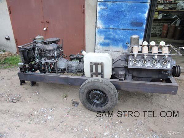 компрессор из двигателя ЗИЛ