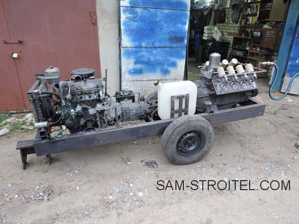 компрессор из ДВС ЗИЛ-130